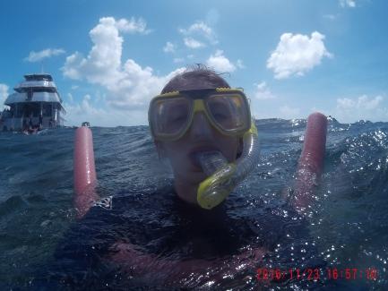 Snorkeling selfie!
